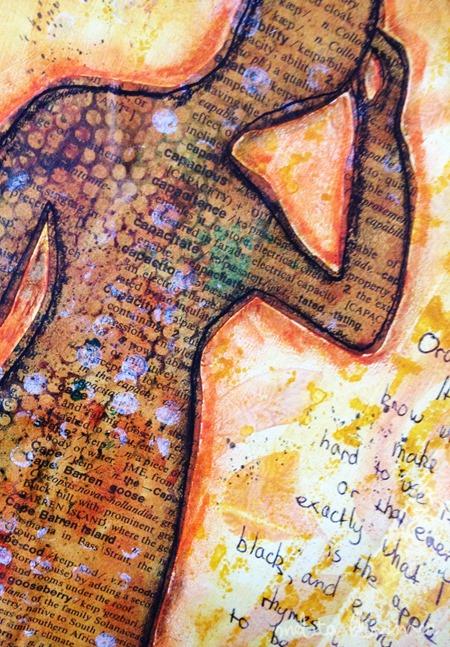 Art Journal Share: Orange